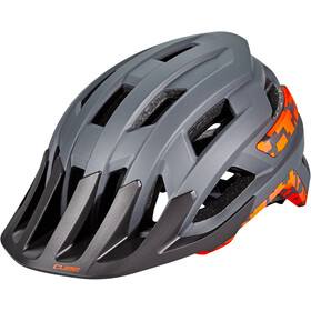 Cube Rook Helmet grey'n'orange